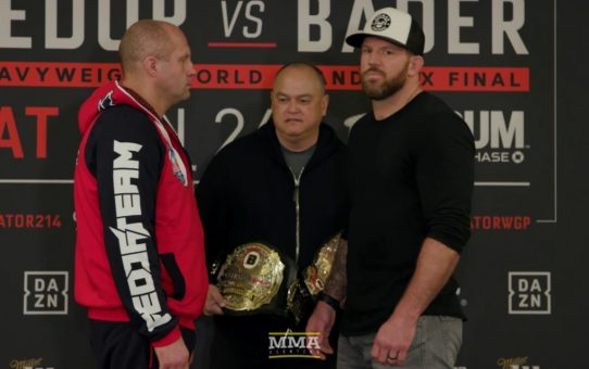 Bellator 214: Fedor Emelianenko vs. Ryan Bader Media Day Staredown – MMA Fighting