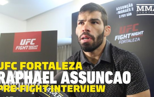 UFC Fortaleza: Raphael Assuncao Says He Confronted Marlon Moraes In Person About 'Thank Me' Tweet
