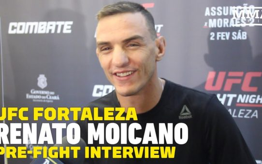 UFC Fortaleza: Despite Fighting In Brazil, Renato Moicano Feels Like A 'Foreigner' Against Jose Aldo
