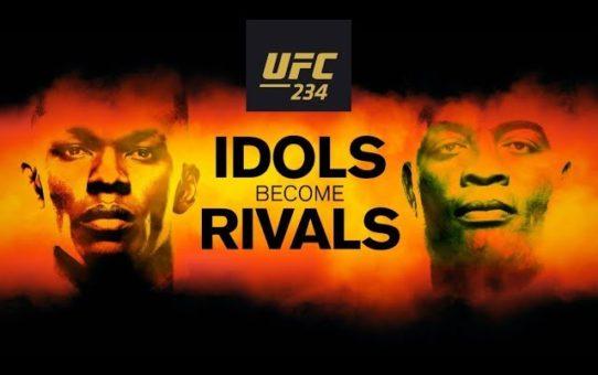 UFC 234: Idols Become Rivals