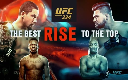 UFC 234: The Best Rise to the Top