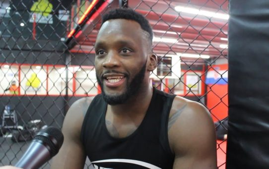 Fabian Edwards Feeling 'Very Violent' Ahead of Bellator Newcastle – MMA Fighting