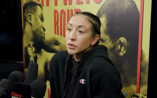 UFC Phoenix: Jessica Penne Discusses Last-Second 'Freak Injury,' Missing Weight – MMA Fighting