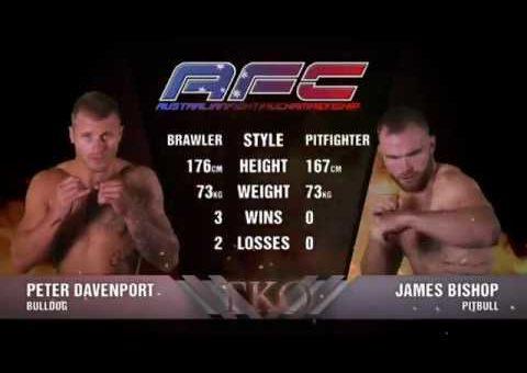 AFC 12 Peter Davenport VS James Bishop