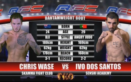 AFC 15 – Bout No.2 – Chris Wase Vs Ivo Dos Santos – MMA Fight