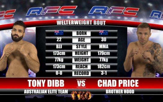 AFC 15 – Bout No.3 – Tony Dibb Vs Chad Price – MMA Fight