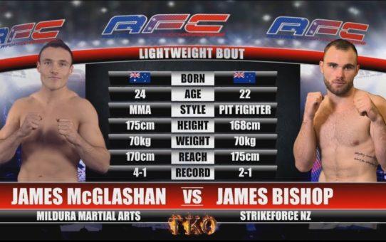 AFC 15 – Bout No.4 – James McGlashan Vs James Bishop – MMA Fight