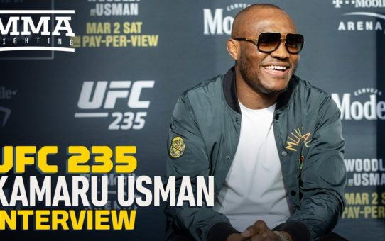 UFC 235: Kamaru Usman Says 'Trolls' Following Ben Askren Will Bolt After Seeing In-Cage 'Product'