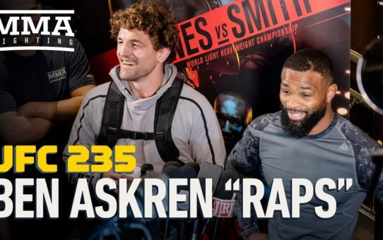Ben Askren Busts Out Rap at UFC 235 Workouts – MMA Fighting