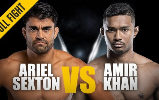 ONE: Full Fight | Ariel Sexton vs. Amir Khan | Grappling Greatness | February 2019