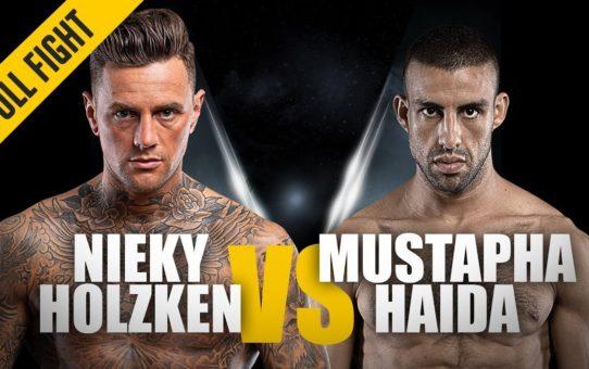 ONE: Full Fight | Nieky Holzken vs. Mustapha Haida | Striking Excellence | February 2019