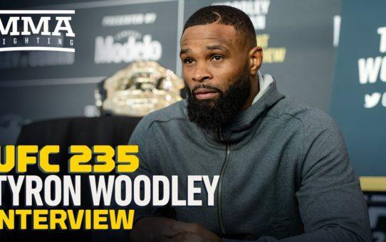 UFC 235: Tyron Woodley Says Kamaru Usman's Pre-Fight Posturing 'Makes Me Laugh' – MMA Fighting