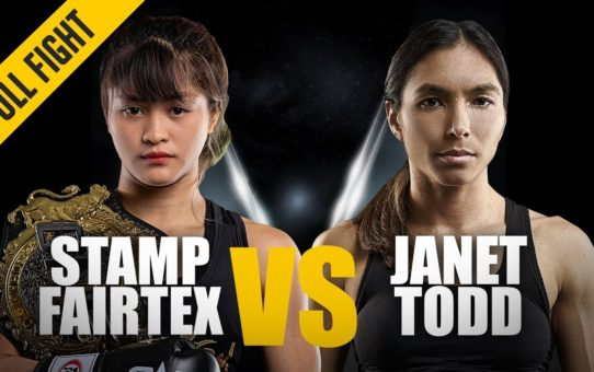 ONE: Full Fight | Stamp Fairtex vs. Janet Todd | Making History | February 2019