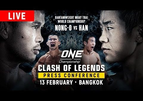 ONE Championship: CLASH OF LEGENDS Press Conference