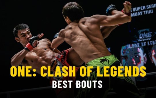 ONE: CLASH OF LEGENDS Highlights   Best Bouts