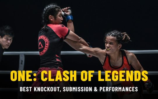 ONE: CLASH OF LEGENDS Highlights   Best KO, Submission, Performances
