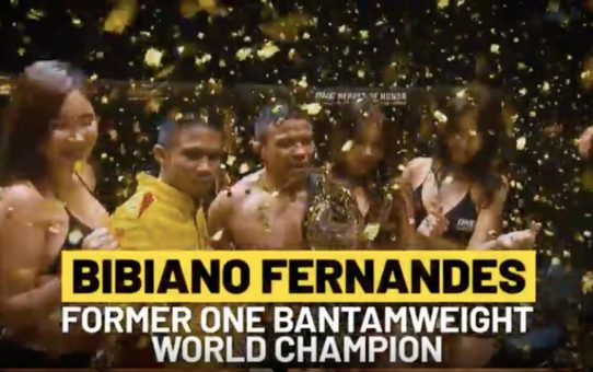 ONE Feature | Bibiano Fernandes Overcomes Tough Beginnings