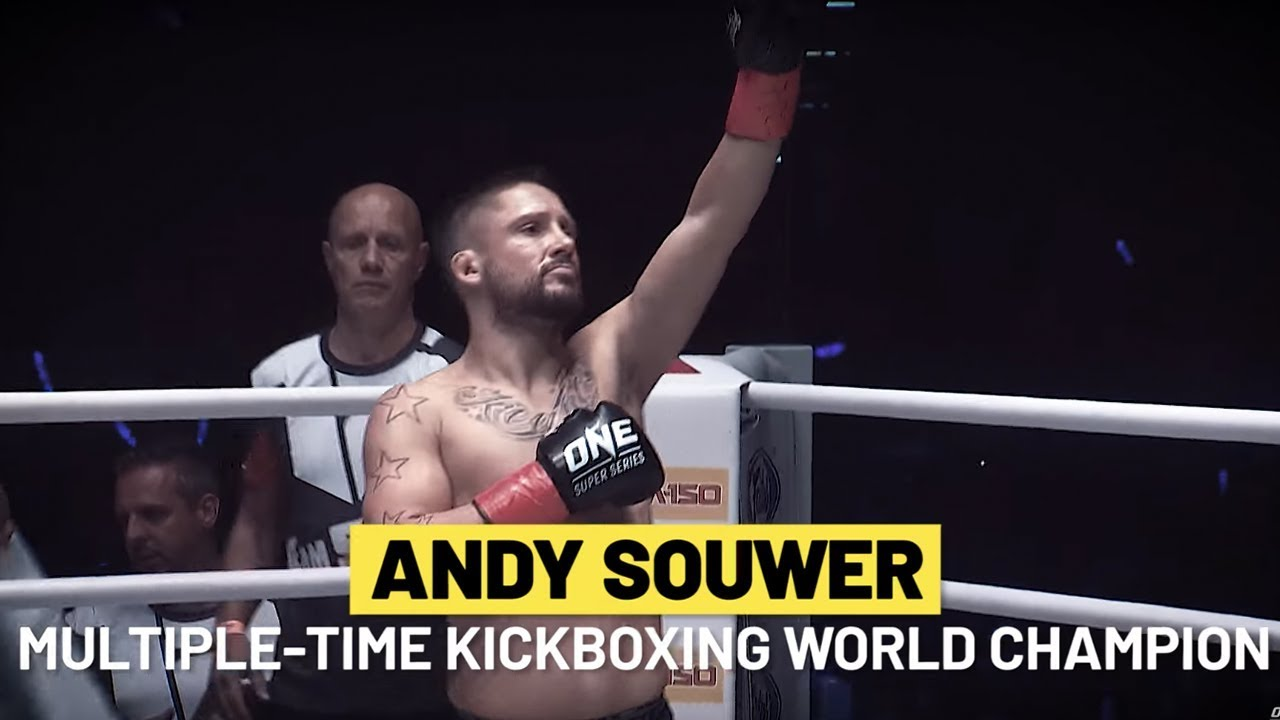 ONE Feature | Childhood Illness Ignites Andy Souwer's Competitive Edge