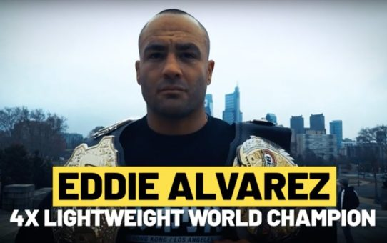 ONE Feature | Eddie Alvarez Is Out To Make History