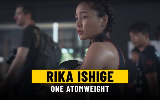 ONE Feature   Rika Ishige's Biggest Challenge Yet