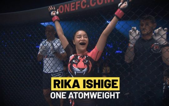 ONE Feature   Rika Ishige's Courage Under Fire