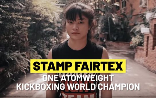 ONE Feature | Stamp Fairtex's A Symbol For Women's Empowerment