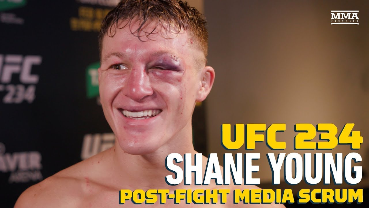 UFC 234: Shane Young Explains Wanting to Spread Positive Message, Including Mental Health Awareness