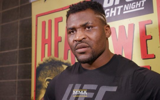 UFC Phoenix: Francis Ngannou Responds to Critics Who Question His Fighter's Mentality – MMA Fighting