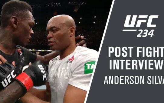 "UFC 234: Anderson Silva – ""I'm So Happy"""