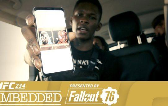 UFC 234 Embedded: Vlog Series – Episode 2