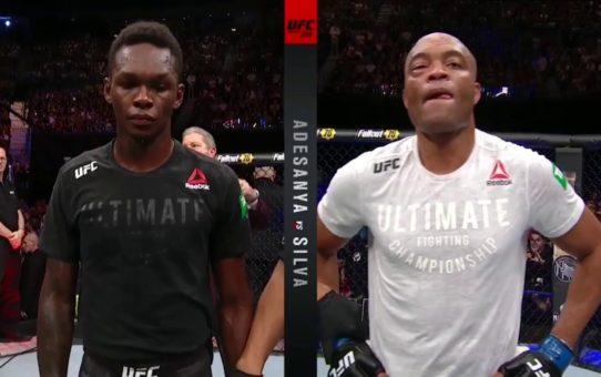 UFC 234: Israel Adesanya and Anderson Silva Octagon Interviews