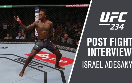 "UFC 234: Israel Adesanya – ""I Nullified His Game"""