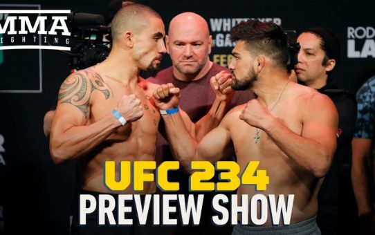 UFC 234 Preview Show – MMA Fighting
