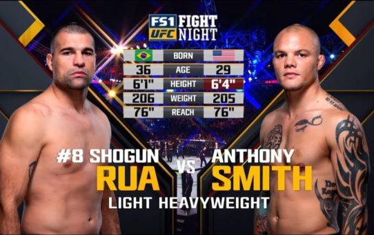 UFC 235 Free Fight: Anthony Smith vs Shogun Rua