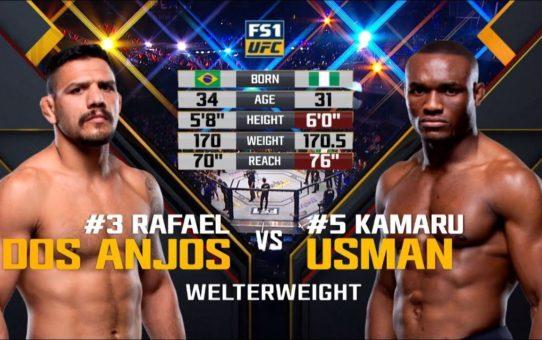 UFC 235 Free Fight: Kamaru Usman vs Rafael Dos Anjos