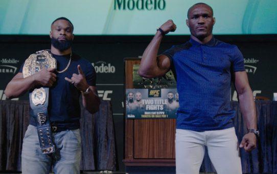 UFC 235: Tyron Woodley – I'm Planning Destruction