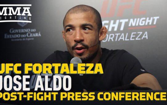 UFC Fortaleza: Jose Aldo Post-Fight Press Conference – MMA Fighting