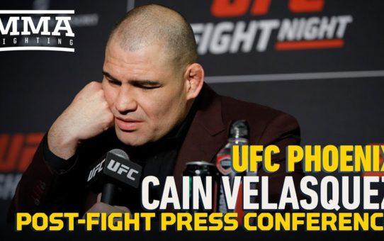 UFC Phoenix: Cain Velasquez Post-Fight Press Conference – MMA Fighting