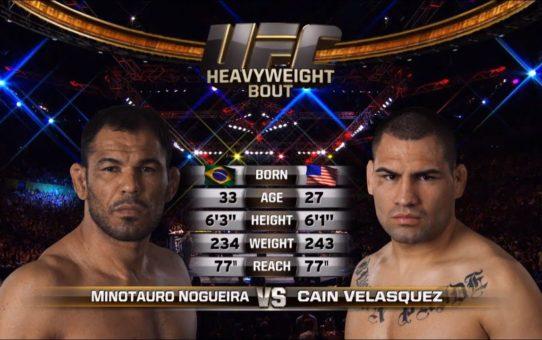 UFC Phoenix Free Fight: Cain Velasquez vs Minotauro Nogueira