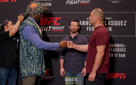 UFC Phoenix Media Day Staredowns – MMA Fighting