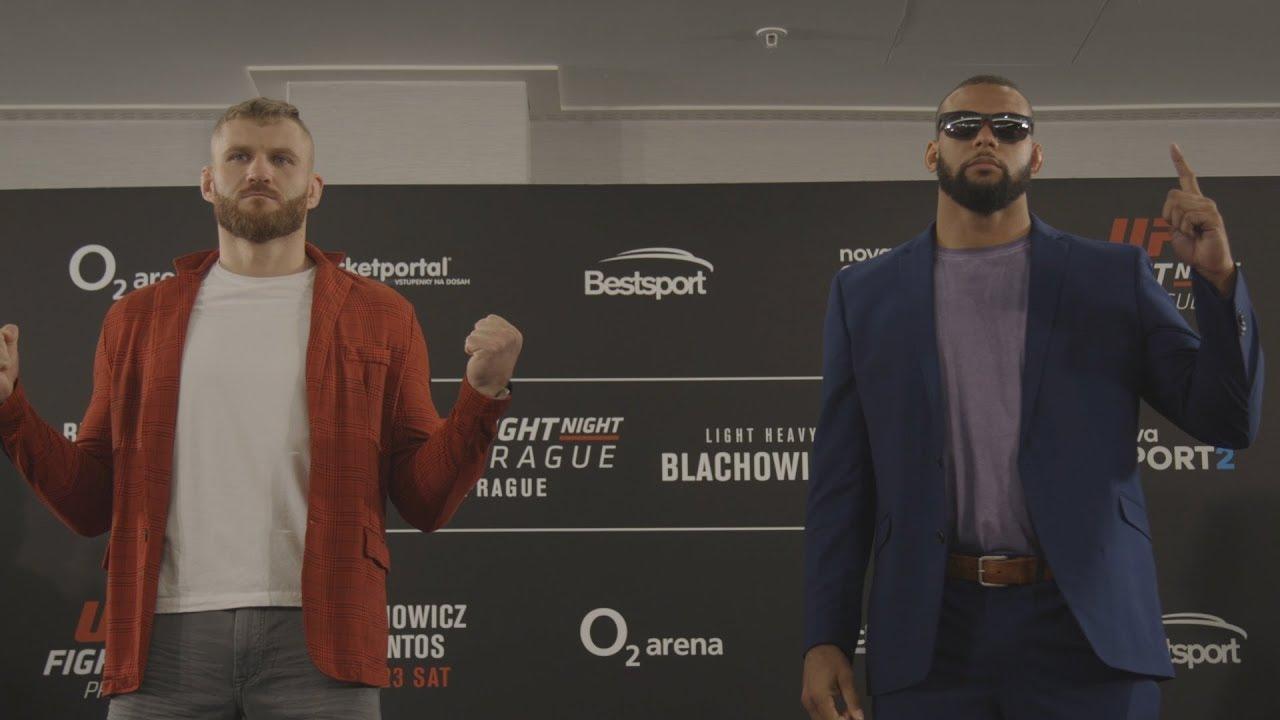 UFC Prague: Media Day Faceoffs