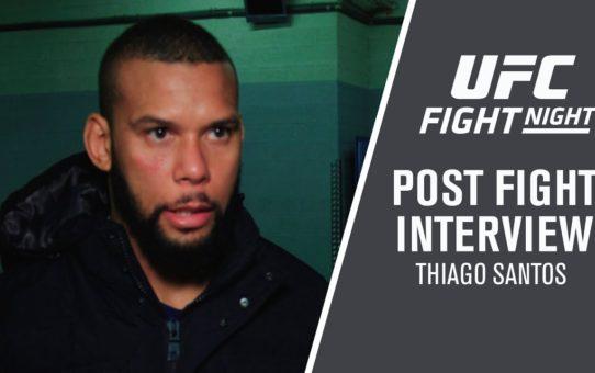 """UFC Prague: Thiago Santos – """" I Had a lot to Overcome to Get Here"""""""