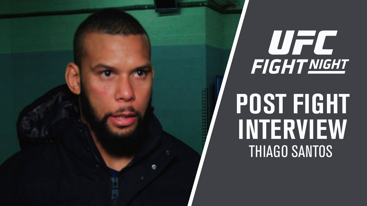 """UFC Prague: Thiago Santos - """" I Had a lot to Overcome to Get Here"""""""