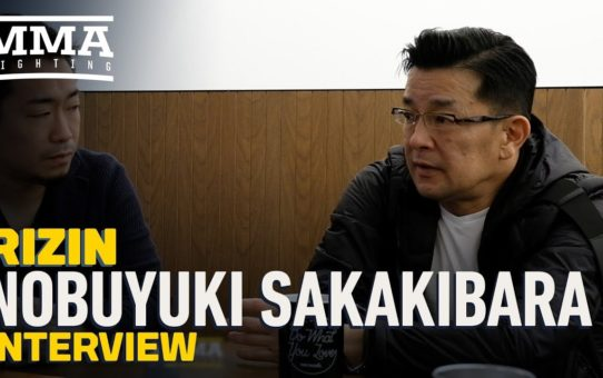 Rizin's Nobuyuki Sakakibara Talks 2019 Plans, Fedor, UFC, Mayweather vs. Tenshin, More