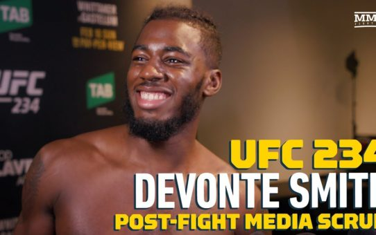 UFC 234: Devonte Smith Explains Why He Wants Francisco Trinaldo Next – MMA Fighting