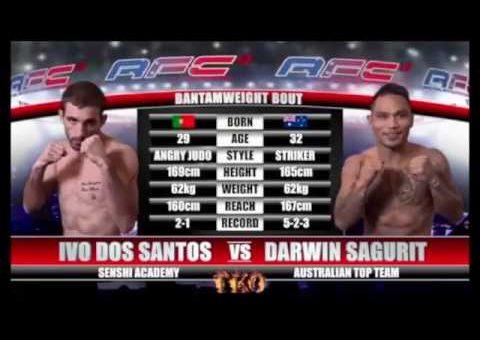 AFC 13 DARWIN SAGURIT VS IVO DOS SANTOS