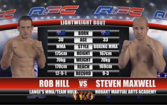 AFC 15 – Bout No.5 – Rob Hill Vs Steven Maxwell – MMA Fight