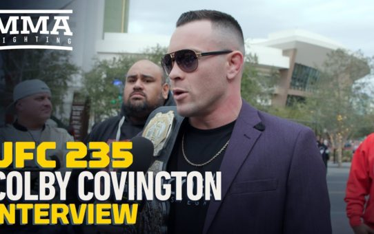 Colby Covington Details Dana White Run-In, Predicts UFC 235 Card