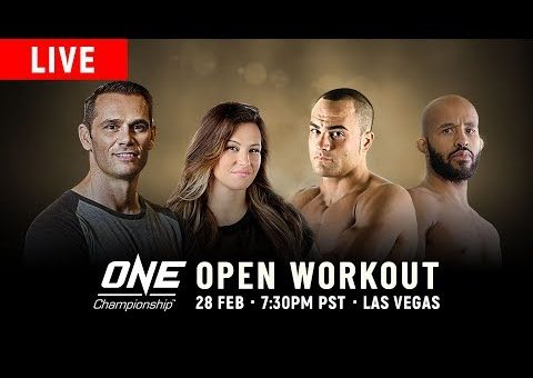 🔴 [LIVE] ONE Championship: Las Vegas Open Workout