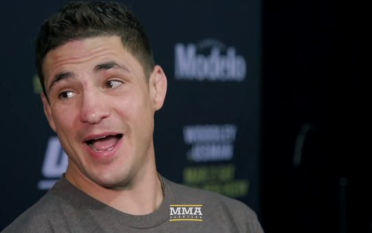 UFC 235: Diego Sanchez Says He's Gone Back To 'Weirdo Way' In Training: 'I'm Out There'